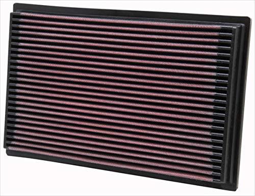 K&N 33-2080 Filtro de Aire Coche, Lavable y Reutilizable