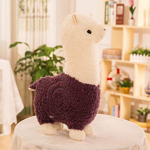 danyangshop Juguetes De Peluche Cute Cartoon Alpaca Plush Doll Toy Toy Sheep Animal De Peluche Suave Peluche Llama Yamma Regalo De Cumpleaños para Bebés Y Niños