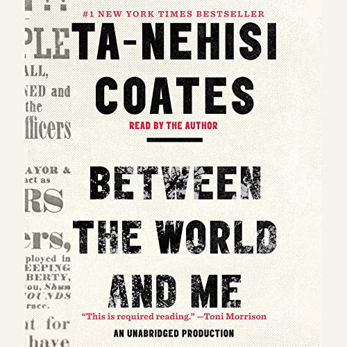 Between the World and Me audiobook cover art