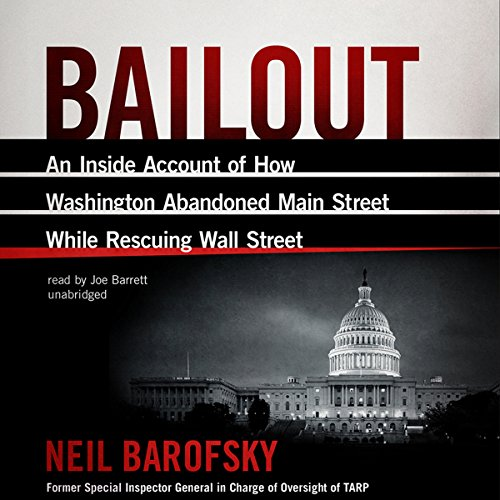 Bailout audiobook cover art