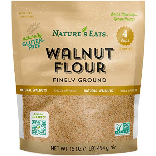 Nature's Eats Walnut Flour Finely Ground, 16 Ounce