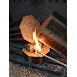 Natural Eco Wood Firelighters - Wood Wool Flame Fire Starters Great for Lighting Fires in Stoves, BBQ's, Pizza Ovens… 6