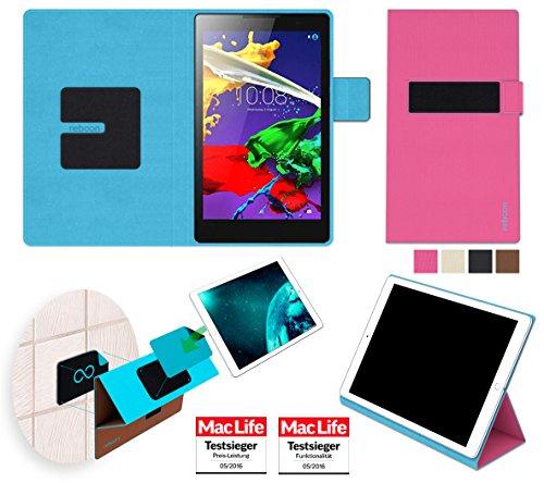 Hülle für Lenovo Tab 2 A8-50 Tasche Cover Hülle Bumper | in Pink | Testsieger