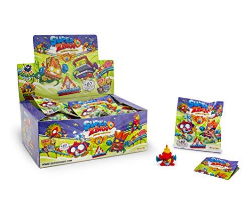 SuperZings Serie 5, visualización de 25 dígitos coleccionables, con 1 figura en cada sobre, multicolor, 8431618014165