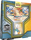Pokémon TCG: Reshiram & Charizard GX League Battle Deck | 3 Pokemon-GX | 1 Deck Box | Genuine Cards, Multicolor (728192519246)