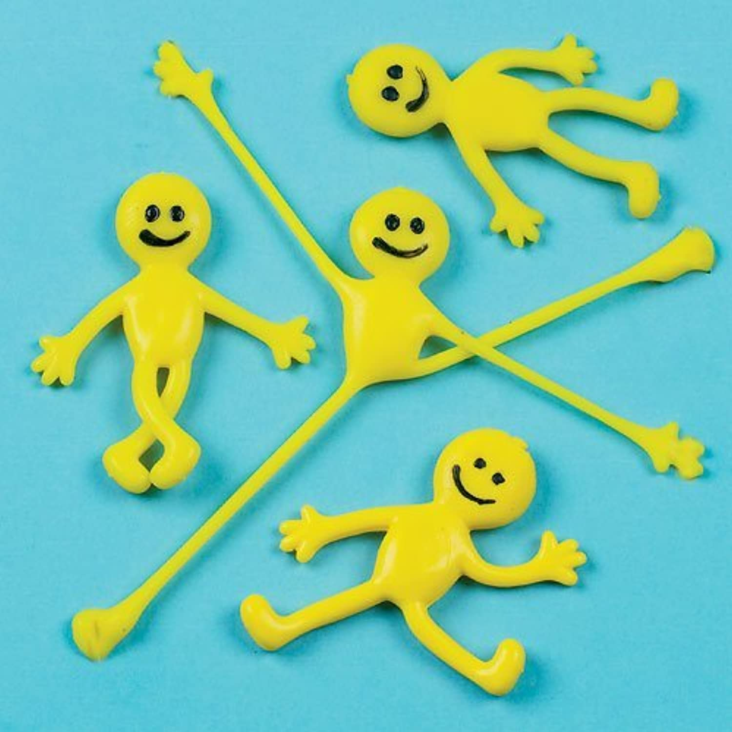 Smiley Stretchy Men (Pack of 6) by Baker Ross