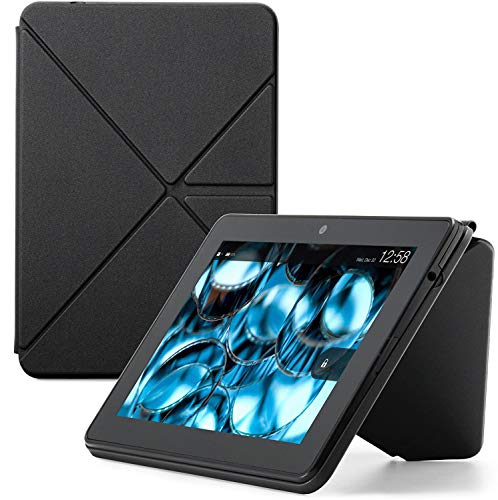 Amazon Kindle Fire HDX Origami Case (for Kindle Fire HDX 7 3rd Gen C9R6QM) (Onyx Black)