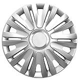 16pollici Copricerchi Royal RC (argento con anello cromato). Copricerchi adatto per quasi tutti i veicoli Opel