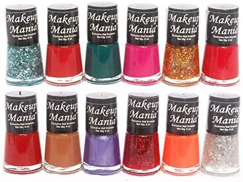 Makeup Mania Bold And Beautiful Combo (Multicolor No.76, Pack of 12) product image