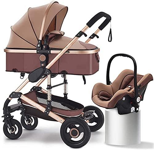Cochecitos y cochecitos, kinderkraft pram 3 en 1 conjunto, sistema de viaje, silla de viaje, buggy, plegable, con asiento de coche infantil, ventilador para bebés, cubierta de lluvia, tellffuff, titul