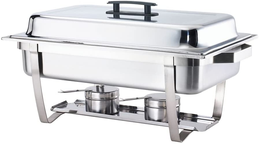 8 Qt Chafer Folding Regular store F433P Our shop OFFers the best service Full Size Frame