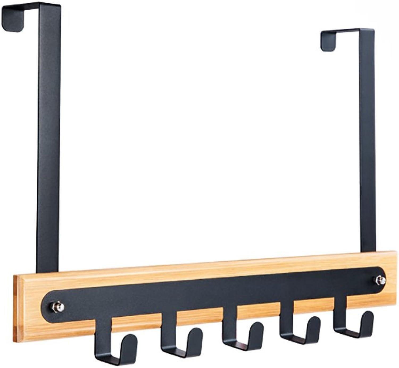 Coat Rack Bamboo Door Hook, Bedroom Coat Hook Hook, Wall Door on The Shelves