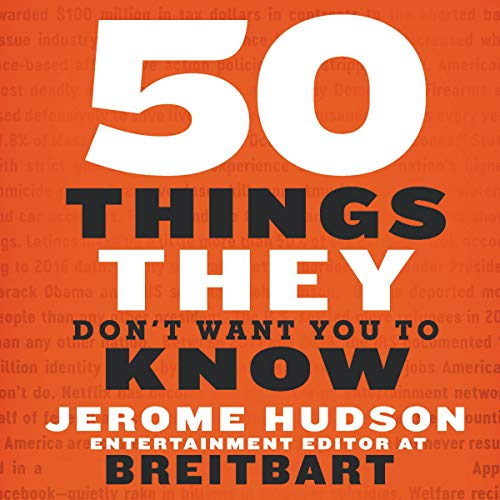 50 Things They Don't Want You to Know Audiobook By Jerome Hudson cover art