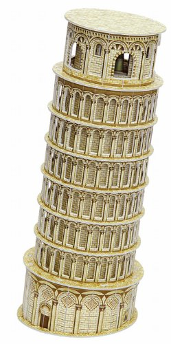 folia 34006 - 3D-Modellogic, Schiefer Turm von Pisa, 30 teile