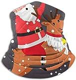 Linger In Sciarpa per Il Viso, Scaldacollo, Scaldacollo, Cartolina di Natale, Unisex