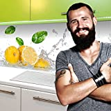 StickerProfis Küchenrückwand selbstklebend Pro Fruit Splash 60 x 60cm DIY - Do It Yourself PVC Spritzschutz