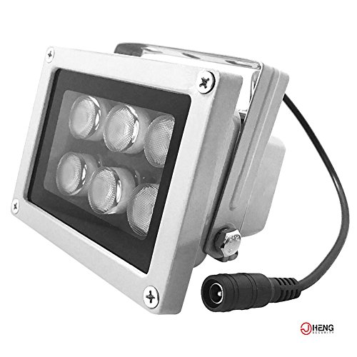 JC 6LED Überwachungskamera Infrarot-Nachtsicht IR-Licht Beleuchtungslampe 29m Für CCTV-Kamera und IP-Kamera
