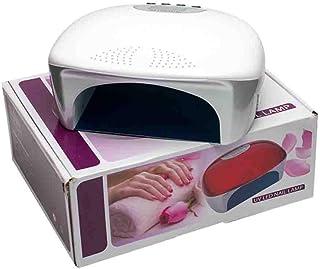 Secadores de UñAs Lámpara profesional de la fototerapia de inducción de la exhibición del LCD del secador del clavo profesional con la función de sincronización de 5s 30s 60s 110 / 220v