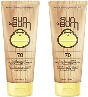 Sun Bum Moisturizing miGYd Sunscreen Lotion, 3-Ounce, SPF 70 (2 Pack)