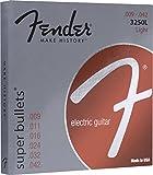 Fender 3250L 9 42 BULLETS Jeu de Cordes guitare électrique 9-42
