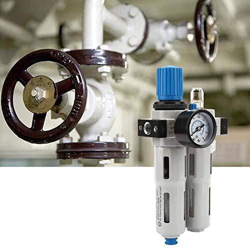 "LHQ-HQ. Druckminderer, Filter-Regler und Öler FRC-1/4-MINI G1 / 4"" Aluminium-Legierung Filter-Controller Kombination Lubricator 1.6MPA for Air System"