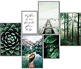 artpin® Moderne Poster Set Natur- Bilder Wohnzimmer Deko