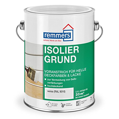 Remmers Isoliergrund weiß RAL 9016 (2,5 l)