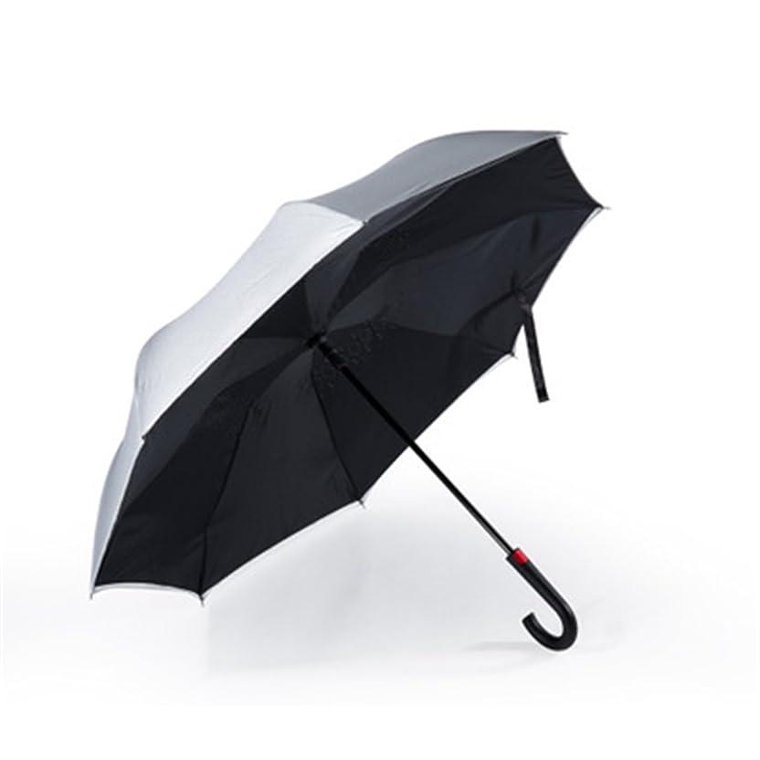 応答目を覚ます息を切らしてワンタッチ 自動開く 逆さま傘 逆さ傘 さかさま傘 日傘 濡れない傘 二重傘 晴雨傘 UVカット撥水加工