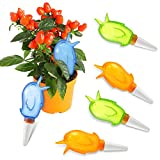 Plant Watering Spikes Bird Shape Self Waterer Automatic Plant Dripping Ball Plastic Plant Watering Devices for Indoor Outdoor Potted Plants Flowers Trees (6)
