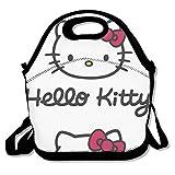 Caja de almuerzo Hello Kitty Head aislado personalizado bolsa de almuerzo