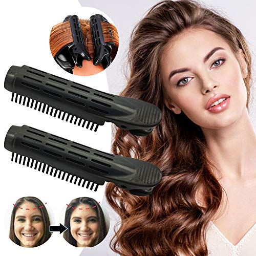 Fluffy Hair Clip Hair, Roller Wave Fluffy Hair Clip, Volumising Hair Root Clips, Volumizing Hair Root Clip for All Hair Types Lengths, Natural Fluffy Hair, Small & lightweight, Easy to use - 2Pcs