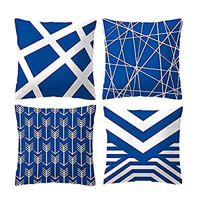 Culoda Throw Pillow Covers 18x18, Couch Pillow ...