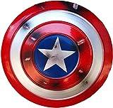 Capitan America Scudo, Props Cosplay Supereroe Metal Shield Shield Halloween Retro Costume Accessori Bar Scudo Parete Appeso Decorazioni ( Color : 3 )