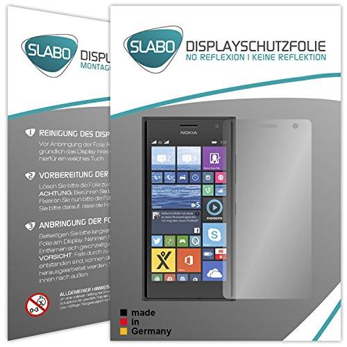 Slabo 2 x Bildschirmfolie für Nokia Lumia 730 Bildschirmschutzfolie Zubehör No Reflexion MATT