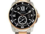 Cartier(カルティエ) CARTIER(カルティエ) カリブル ドゥ ダイバー ブラック SS/PG W7100054