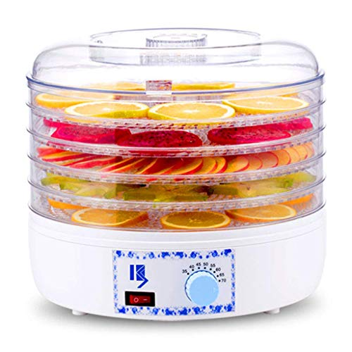 Lowest Prices! JION Food dehydrator, adjustable temperature 35 to 75 °C multi-function dryer, suita...