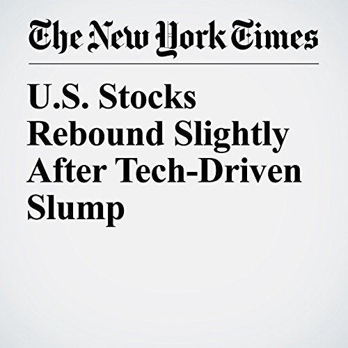U.S. Stocks Rebound Slightly After Tech-Driven Slump copertina