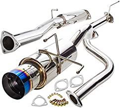 AJP Distributors OE Replacement Racing JDM Upgrade Polished Stainless Steel 2.5