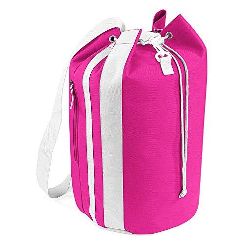 Bag-Base paquetage BG227 marino, colore: rosa fucsia