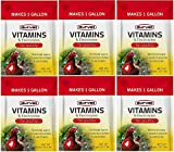 Durvet 6 Pack of Vitamins and Electrolytes for Poultry, 5 Grams, Makes 6 Gallons