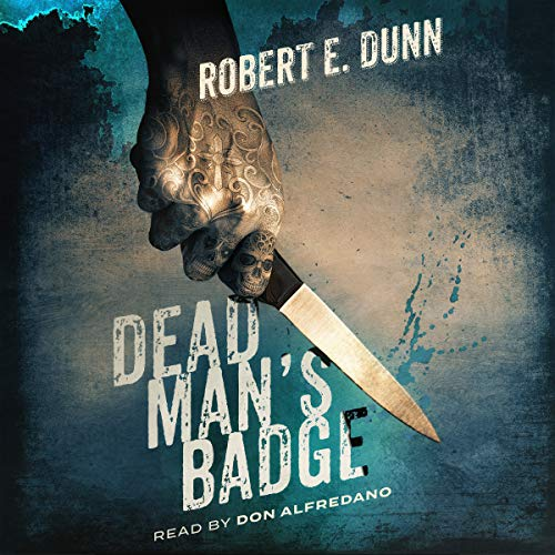 Dead Man's Badge audiobook cover art