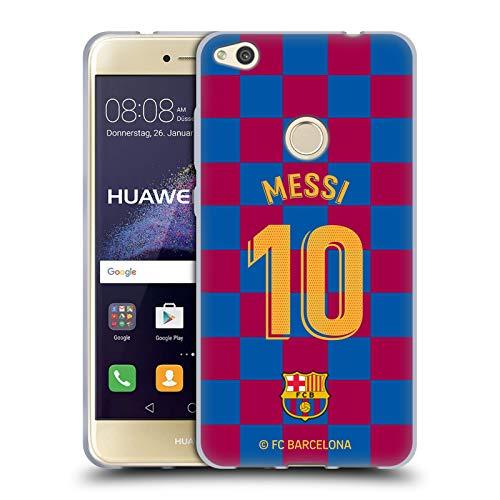 Head Case Designs Licenza Ufficiale FC Barcelona Lionel Messi 2019/20 Giocatori Home Kit Gruppo 1 Cover in Morbido Gel Compatibile con Huawei P8 Lite (2017)