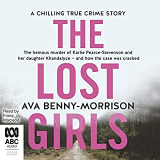 The Lost Girls                   By:                                                                                                                                 Ava Benny-Morrison                               Narrated by:                                                                                                                                 Fiona Macleod                      Length: 8 hrs and 33 mins     3 ratings     Overall 5.0