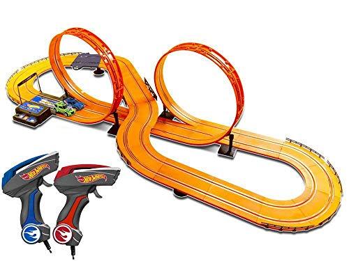 Pista Hot Wheels Track Set Deluxe Multikids Laranja 632 cm