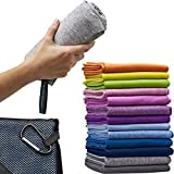 Best Camp Towels - Microfiber Quick Dry Towel for Home Gym, Beach Review