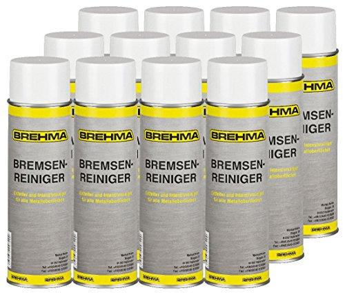 12 BREHMA Bremsenreiniger 500ml Teilereiniger Entfetter