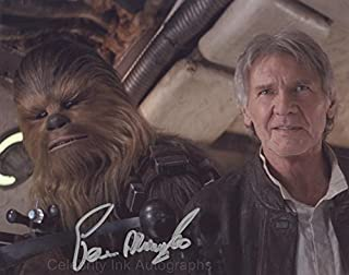 PETER MAYHEW as Chewbacca - Star Wars GENUINE AUTOGRAPH