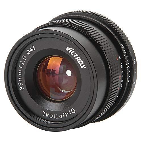 VILTROX F2 - Lente de Gran Apertura para cámara Sony NEX E Full Frame A7 A7SII A7RII A7R A6300 A6000 NEX-7 (35 mm)