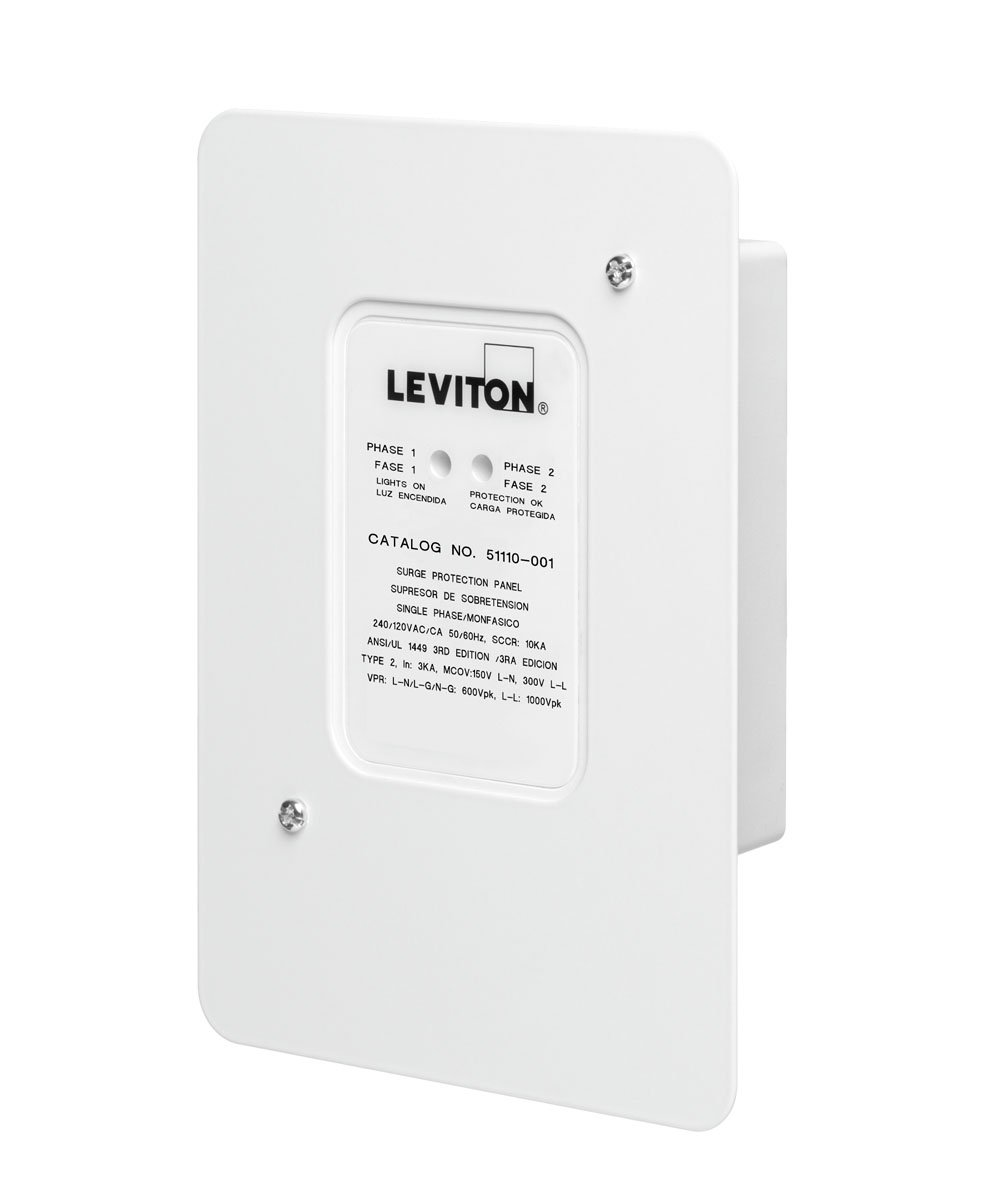 Leviton 51110 SRG Residential Surge Protection