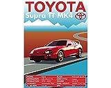 AZSTEEL Retro Vintage Classic Car Poster Toyota Supra TT